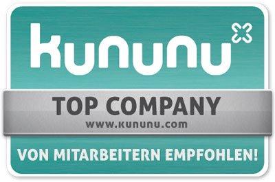 Top Company - von Kununu empfohlen